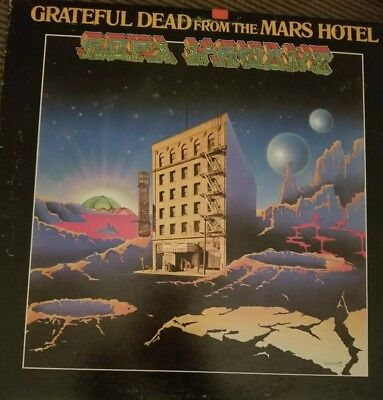 Grateful Dead - From The Mars Hotel Lp Album Vg+ Gd 102 1974 Jerry Garcia