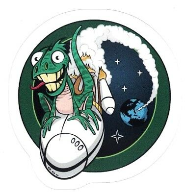 NROL-61 MISSION STICKER ~Spike Lizard Rocket Logo Recon Spy Satellite NEW