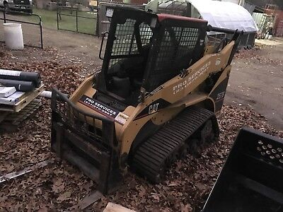2005 Caterpillar 257B Tracked Skid Steer Loader w/ Cab! 4200hrs on unit