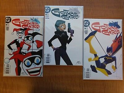 Gotham Girls #3,4&5 Lot DC Comics 2002 Harley Quinn Cat Wpman Batgirl