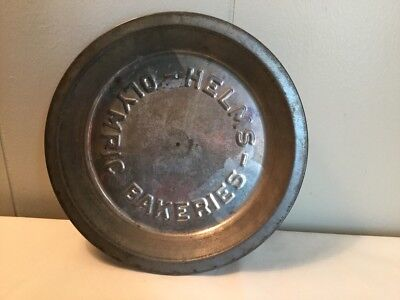Helms Bakeries Pie Dish