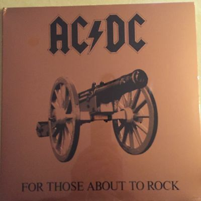 AC/DC - For Those About To Rock - Original 1981 SEALED vinyl LP USA SD1111