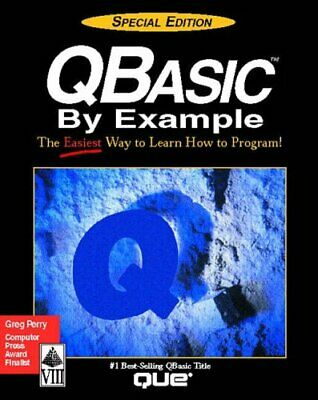 QBASIC by Example: Special Edition (Programming (... by Perry, Greg M. Paperback