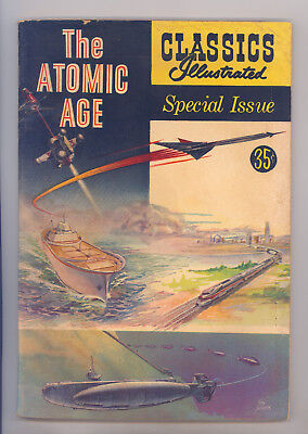 Classics Illustrated Special #156A FN- Evans, Torres, Crandall, The Atomic Age