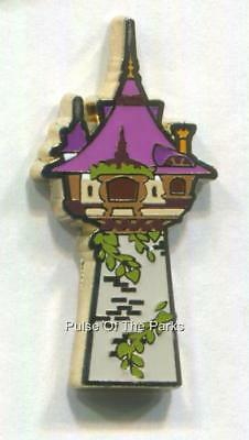 Rapunzel's Tower Tangled Disney Pin - 2017 Love is an Adventure Epcot Pin Event