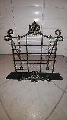 Iron Cookbook/Bible Holder with Weights
