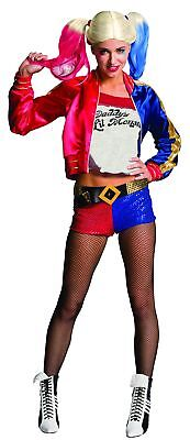 Rubie's Official Harley Quinn Ladies Fancy Dress Halloween Suicide Squad Wome...