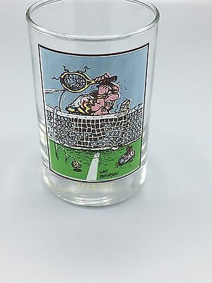 Arby's Collector's Series Luck Out Gary Patterson 1982 Glass Tennis