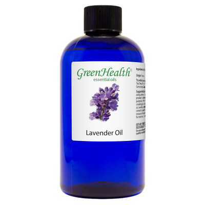 Huge 8 fl oz Lavender Essential Oil (100% Pure & Natural) GreenHealth