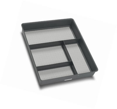 Madesmart Gadget Tray Drawer Organizer, Granite