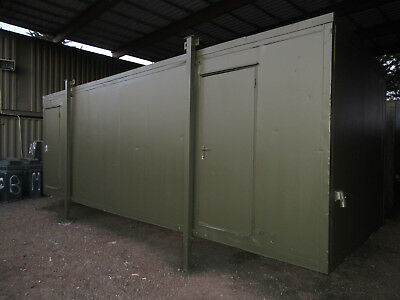 24ft x 9ft PORTABLE OFFICE, SITE OFFICE, SITE CABIN, £1650 + VAT, CHEAP, LOOK