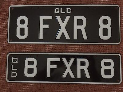 Personalised Number Plates Qld XR8 Falcon XR V8