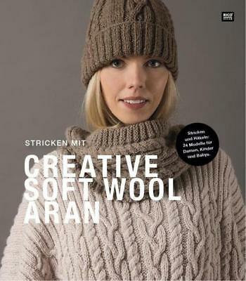 Stricken mit Creative Soft Wool Aran