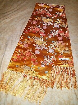 Chinese南京云锦桑蚕丝双面绣围肩handicraft art brocade Culture mulberry SILK EMBROIDERY scarf