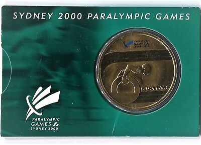 """2000 $5 Uncirculated Coin: """"Paralympic Games."""""""