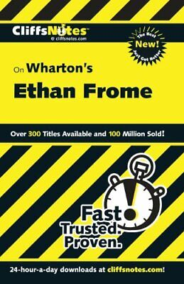 CliffsNotes on Wharton's Ethan Frome by Pavlos, M.Ed Suzanne Paperback Book The