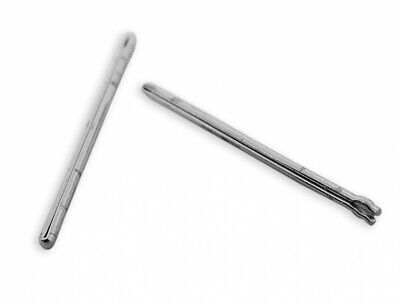 Citizen | 2x Splinte Bandstifte Open End Pins Ø 0,85 mm 19mm für u.a JY0040