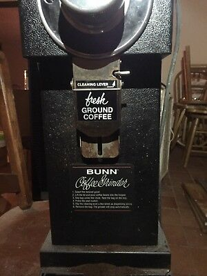 Bunn-O-Matic Gourmet Commercial Or Home Coffee Grinder