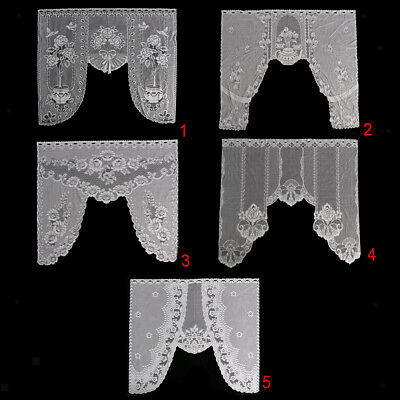 Vintage Style Lace Coffee Curtain Kitchen Curtain Vintage Style Window Scarf