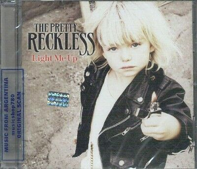 The Pretty Reckless Light Me Up Sealed Cd New 2012