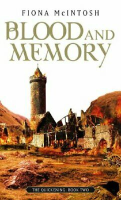 Blood And Memory: The Quickening Book Two by McIntosh, Fiona Paperback Book The