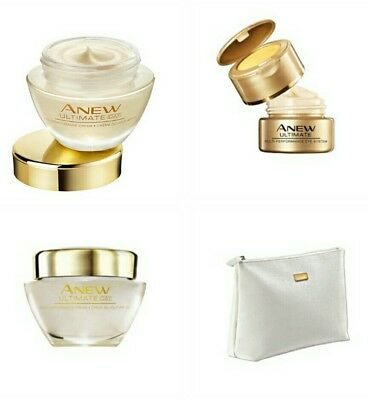 AVON SPARSET *ANEW ULTIMATE Multi-Performance Tag LSF25, Nacht & Augencreme