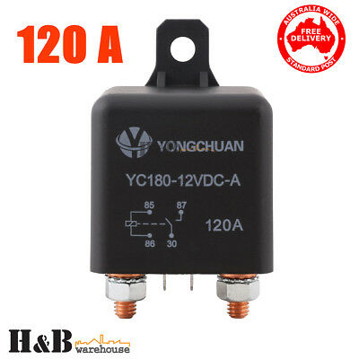 Genuine 12V 120A AMP Relay High Current Split Start on off Relay Auto Boat C0139