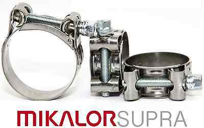 MIKALOR W2 Stainless Steel Hose Clamps | Supra | Exhaust | NEXT DAY DELIVERY
