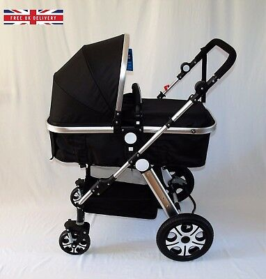 Buggy Stroller Pushchair Travel System. theLondonPramCo. New Baby Toddler Pram