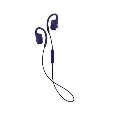 JVC Bluetooth Wireless Sport Headphones Blue Ear Clip Design Water Resistant