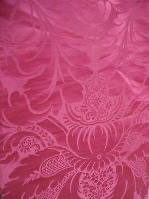 antique baroque silk damask