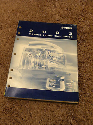 2002 Yamaha Marine Technical Update Guide Manual Outboard Tips Service Bulletins