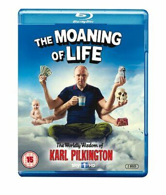 The Moaning of Life - Series 1 [Blu-ray] -  CD 9CVG The Fast Free Shipping