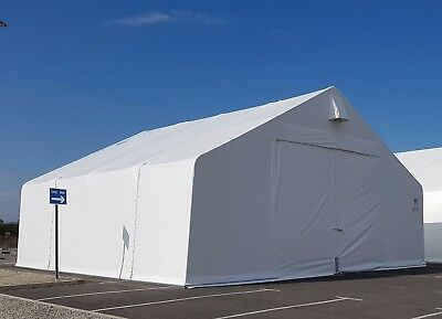 Industrial Shelter Steel Frame Temporary Warehouse 12m Span x 21m Long