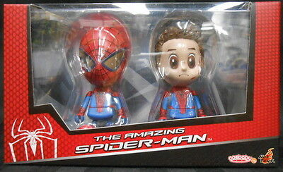 """HOT TOYS COS#31 Cosbaby - """"Amazing Spider-Man"""" (S) Spider-Man JAPAN F/S S2492"""