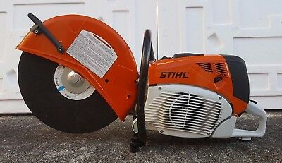 "STIHL TS 800 Cutquik 16"" Professional Gas Powered Concrete Saw W/ Disk Brand New"