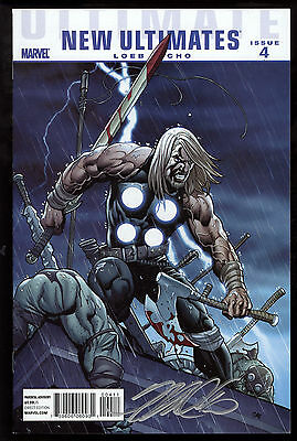 Ultimate New Ultimates (2010) #4 First Printing Signed by Artist Frank Cho VF/NM