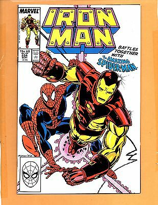 Iron Man #234 NM- & 235 VF+ Spider-Man !