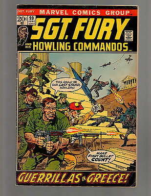 Sgt. Fury And His Howling Commandos # 99  FN+ to FN/VF