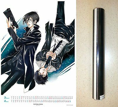 PSYCHO-PASS 2016 Wall Calendar A2 Sized Full Color Licensed New Sealed Import