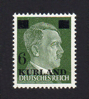 GERMANY 3rd REICH Occupations KURLAND 1945 Adolf Hitler 5Pf O/P Fine MINT