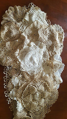 Bulk lot of 30 Doilies