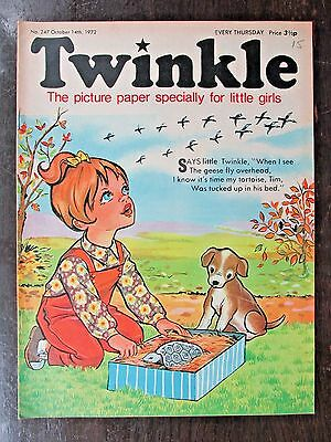 TWINKLE COMIC.  NO.247.  OCTOBER 14th.  1972.