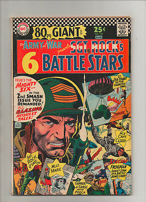 Our Army At War #177 - 80 Page Giant Sgt Rock - (Grade 6.0) 1967