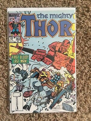"""The Mighty Thor """"Skurge's Last Stand"""" #362"""