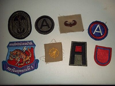 Wwi Wwii Korean War Vietnam Us Army Patch Lot #110