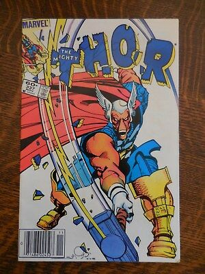 Thor #337 1St Beta Ray Bill 1983 Marvel Comic Nm - Last One