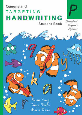 NEW QLD Targeting Handwriting : Prep Student Book By Susan Young Paperback