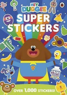 NEW Hey Duggee Super Stickers By Ladybird Paperback Free Shipping