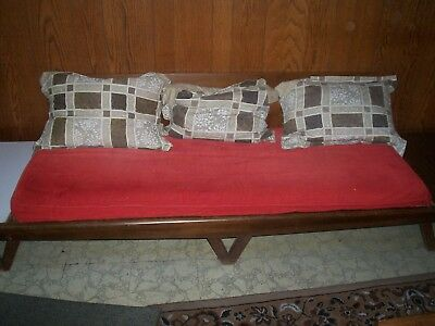 Vintage ADRIAN PEARSALL sofa needs some TLC